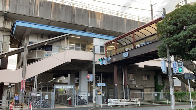 JR竹下駅から徒歩で約5分